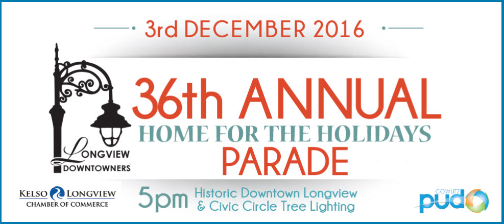 36th Annual Home for the Holidays Parade & Tree Lighting | Kelso ...