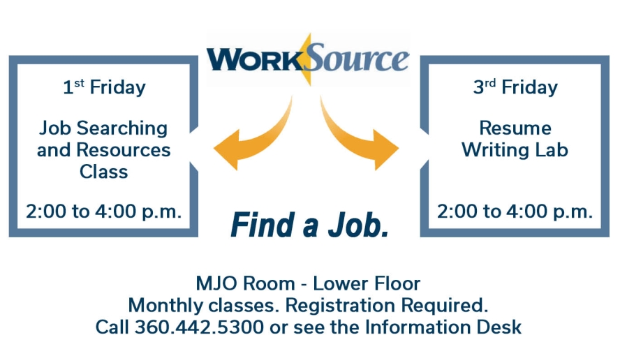worksource job search and resume classes kelso longview chamber of