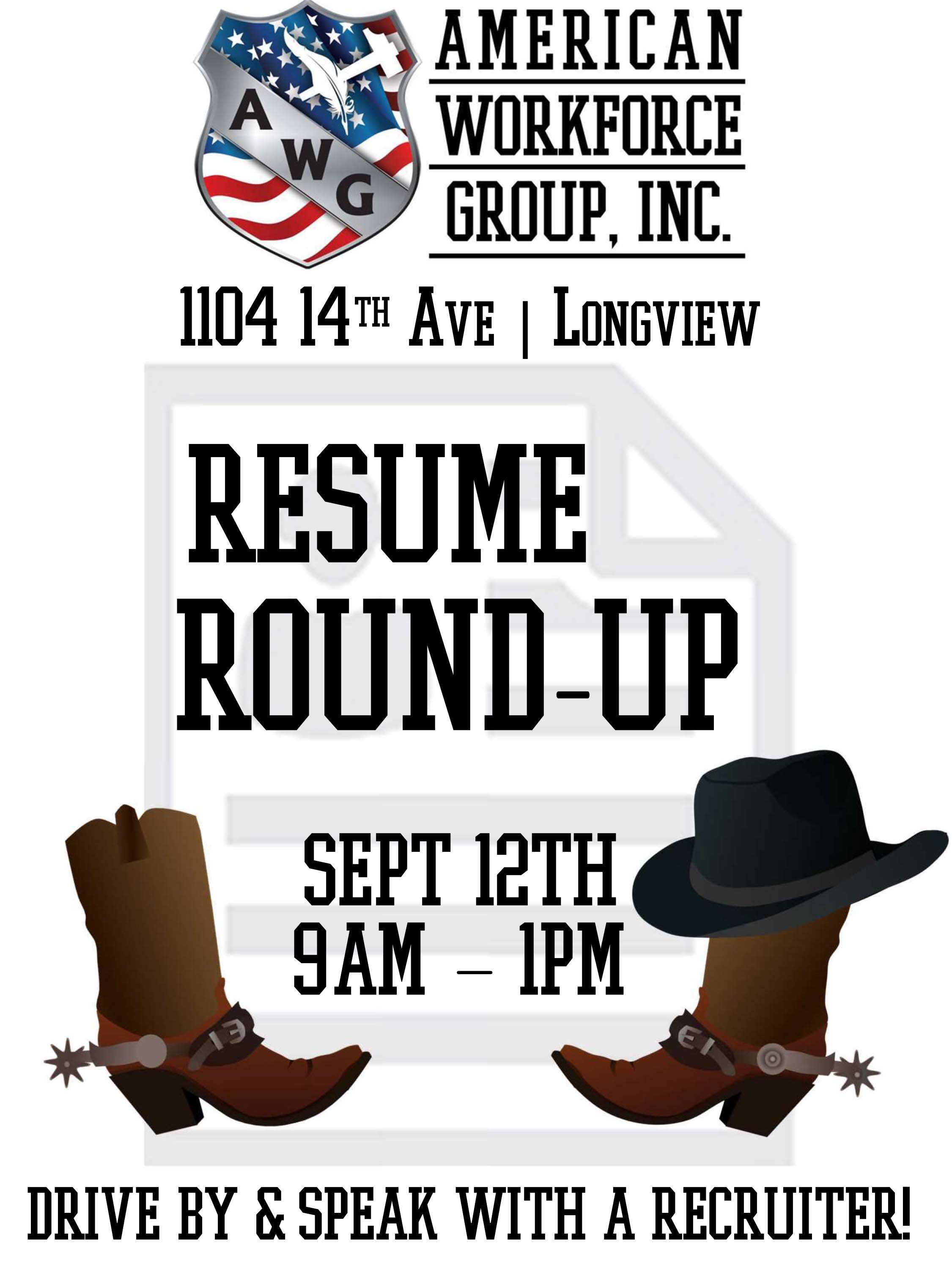 resume round up by american workforce group