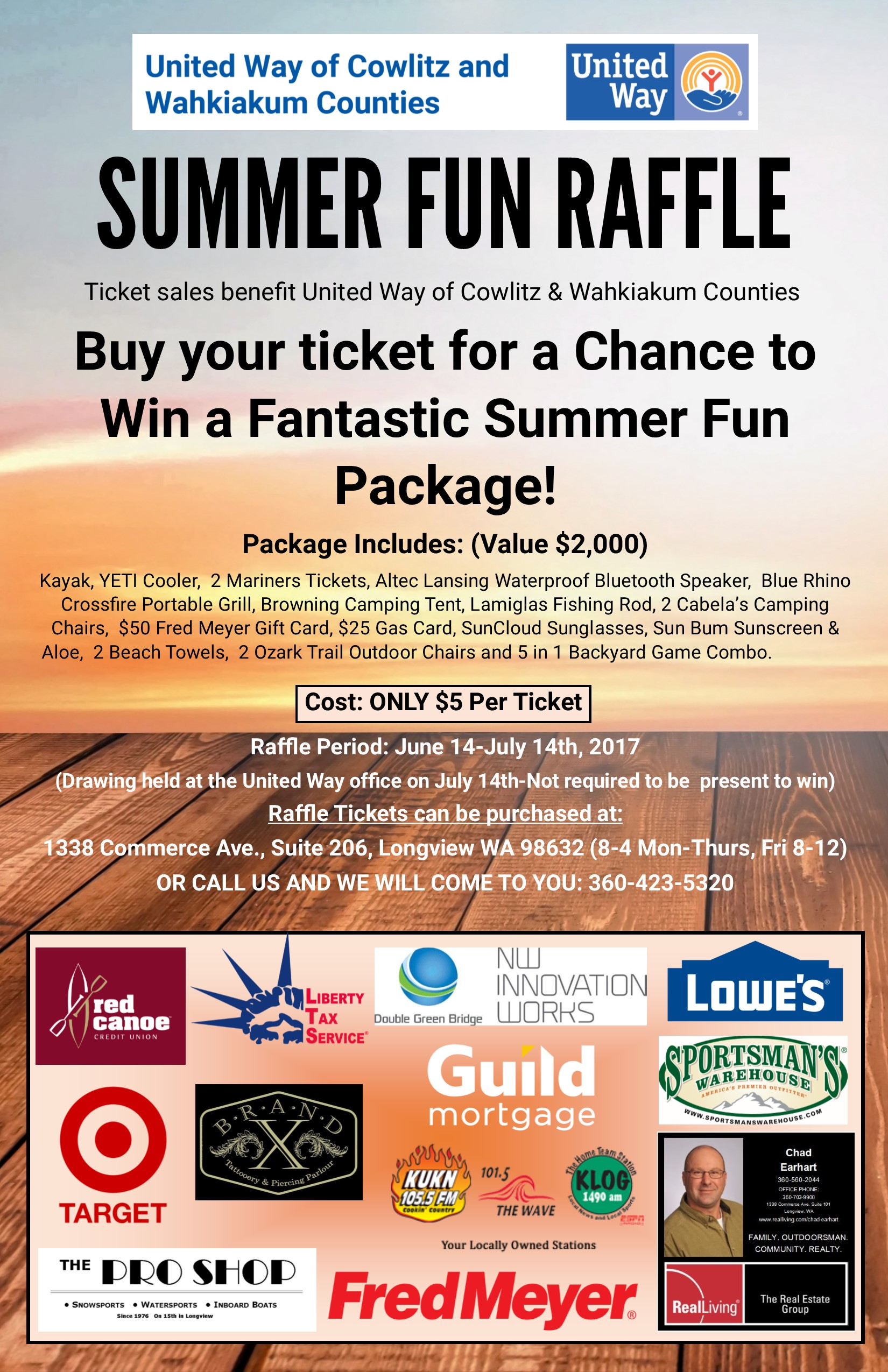 United Way Of Cowlitz And Wahkiakum Counties Summer Fun